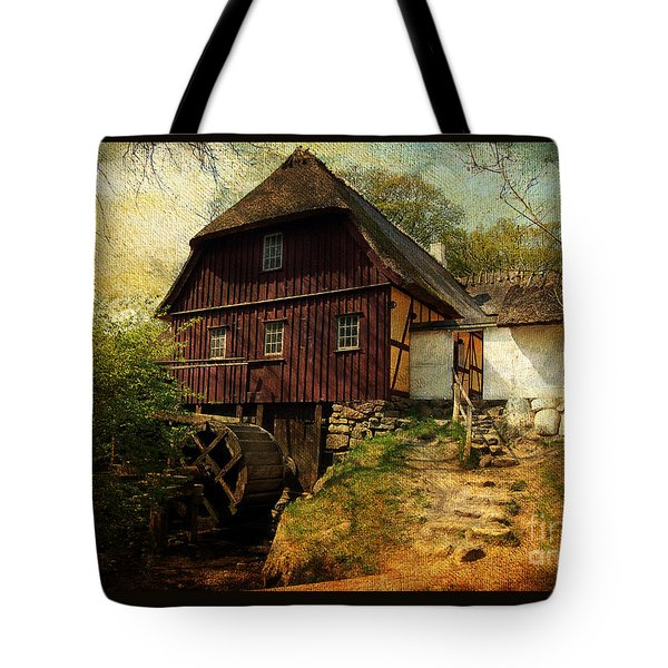 Danish Watermill Anno 1600 Tote Bag