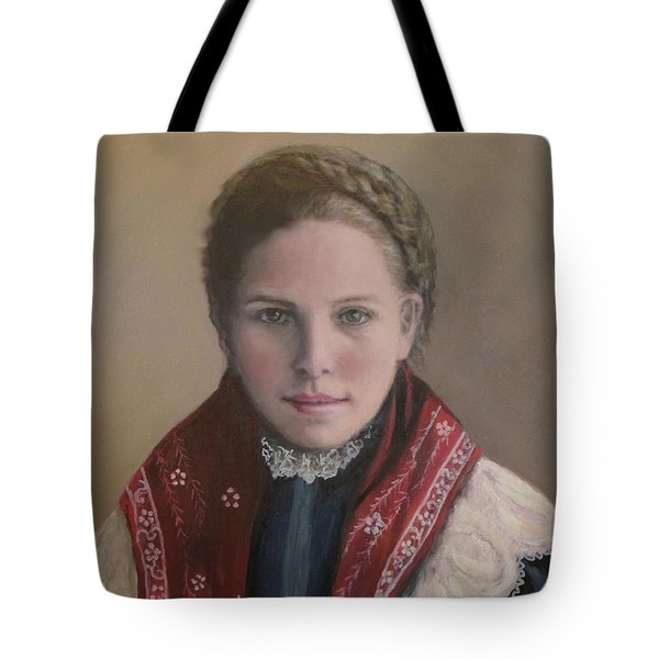 Danish Woman On Ellis Island Tote Bag