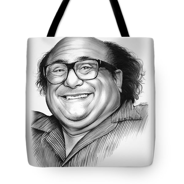 Danny Devito Tote Bag by Greg Joens
