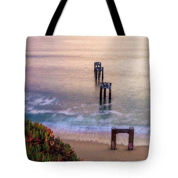 Danvenport Pier Tote Bag