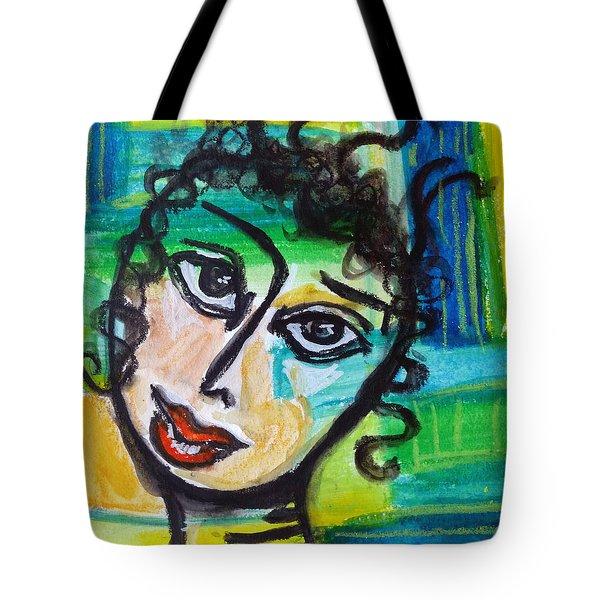 Daphne - Vivid Vixen 4 Tote Bag