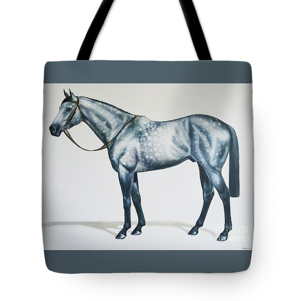 Dapple Gray Tote Bag