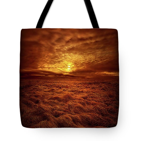 Tote Bag featuring the photograph Dare I Hope by Phil Koch