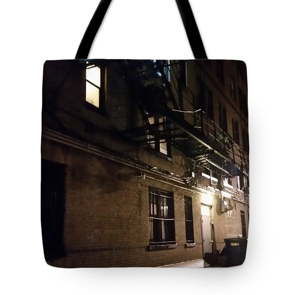 Dark And Rainy Night Tote Bag