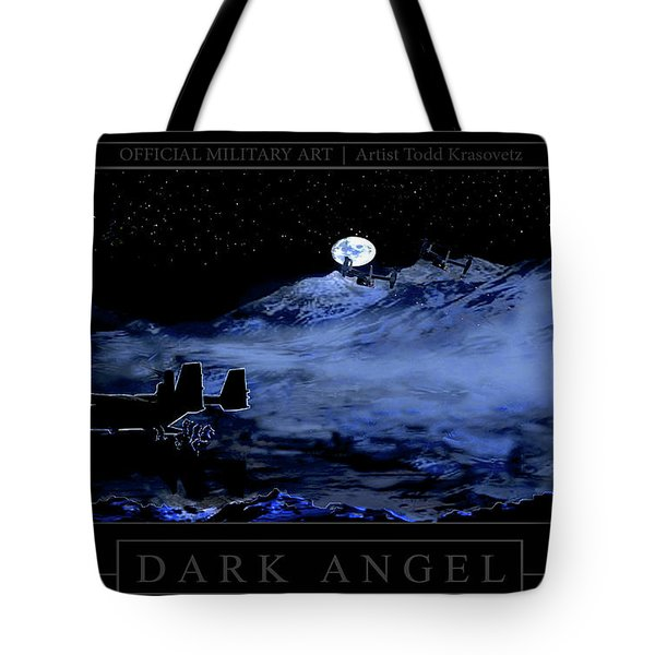 Dark Angel Tote Bag by Todd Krasovetz