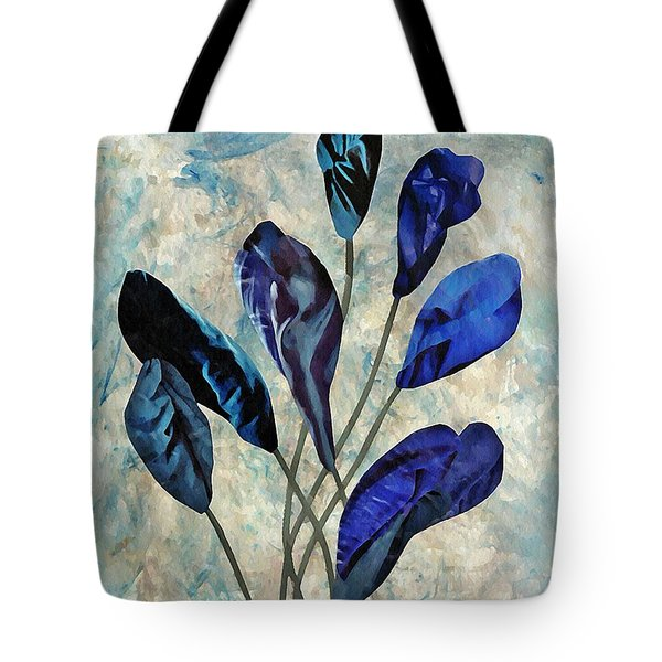 Dark Blue Tote Bag by Sarah Loft