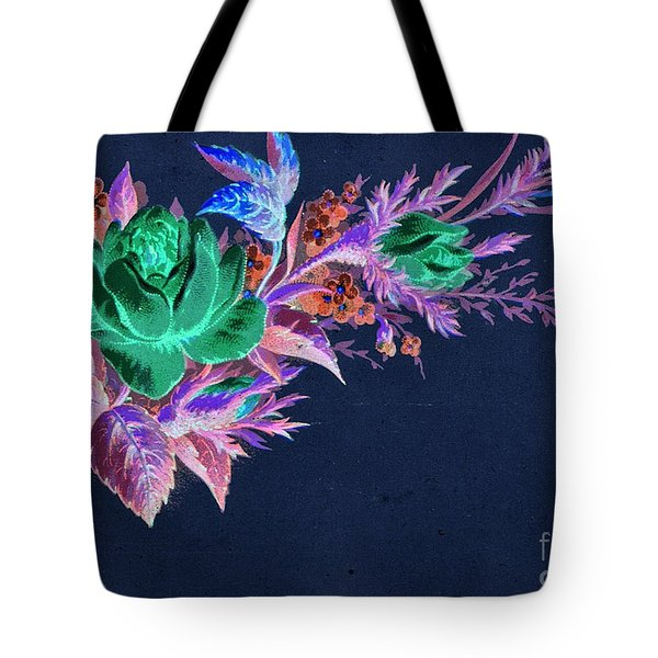 Dark Bouquet Tote Bag