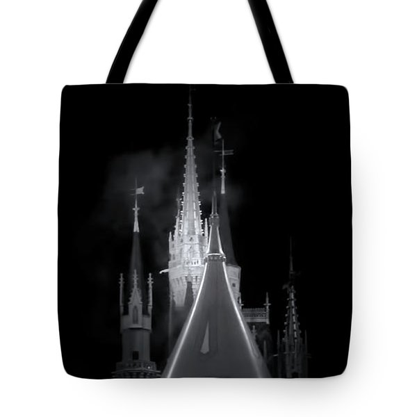 Tote Bag featuring the photograph Dark Castle by Mark Andrew Thomas
