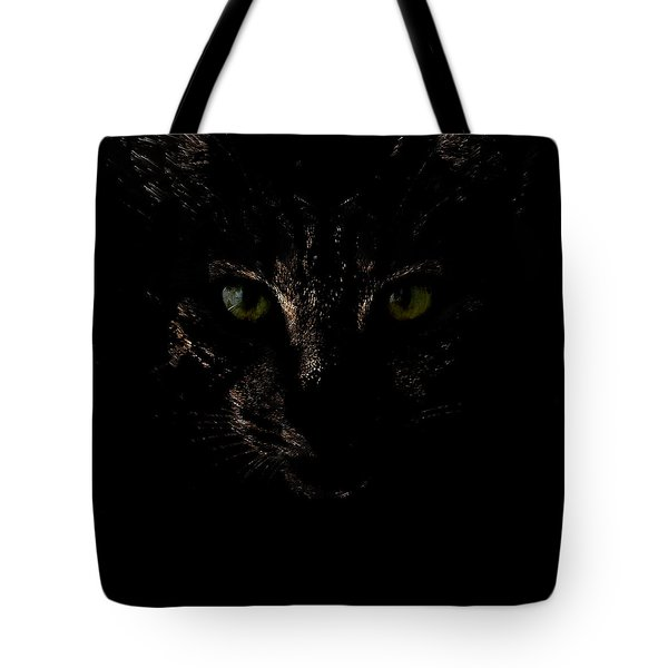 Tote Bag featuring the photograph Dark Knight by Helga Novelli