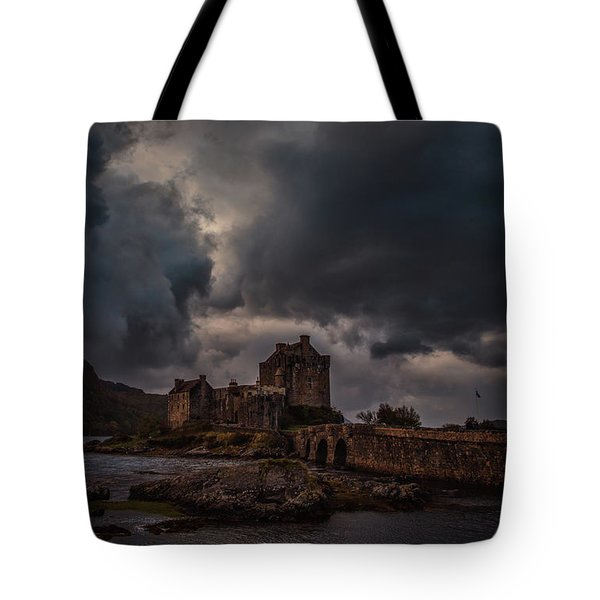 Dark Clouds #h2 Tote Bag