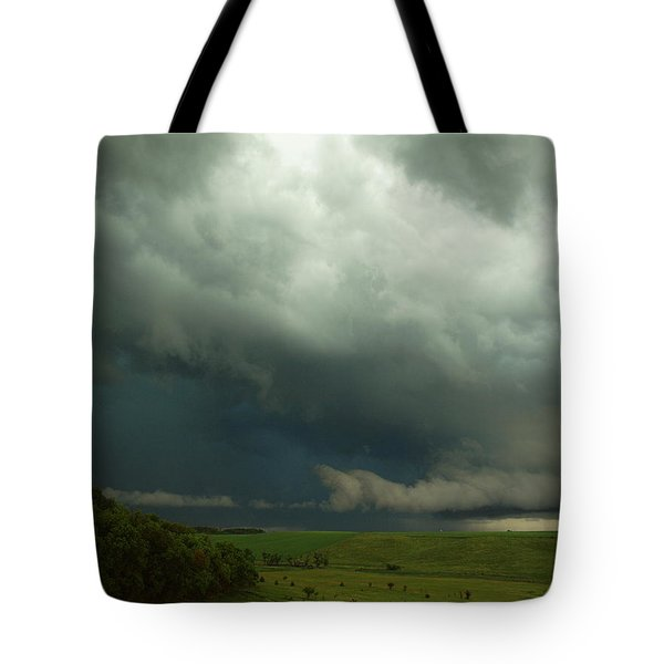 Dark Countryside Tote Bag by Melissa Peterson