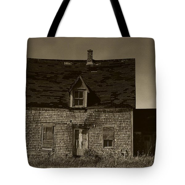 Tote Bag featuring the photograph Dark Day On Lonely Street by RC DeWinter
