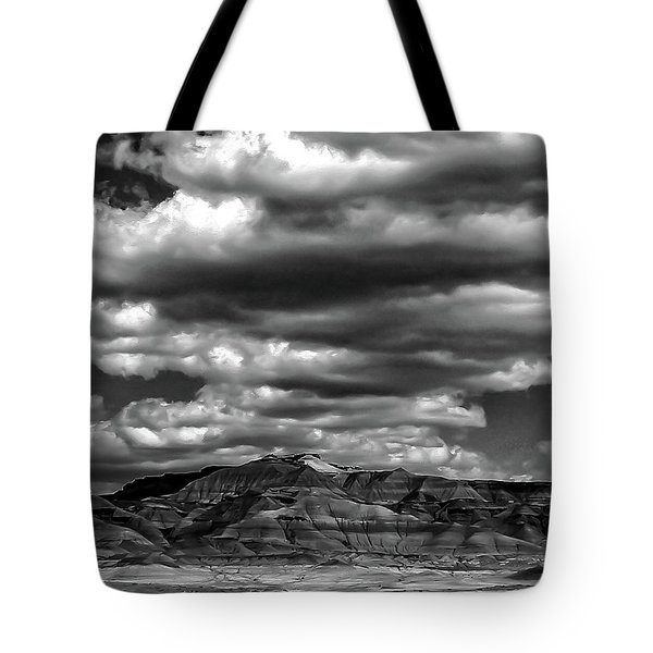 Tote Bag featuring the photograph Dark Days by Louis Dallara