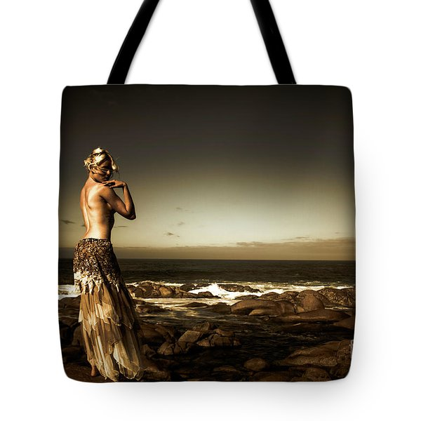 Dark Dramatic Fine Art Beauty Tote Bag