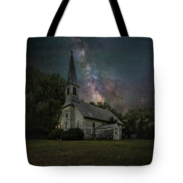 Tote Bag featuring the photograph Dark Enchantment  by Aaron J Groen