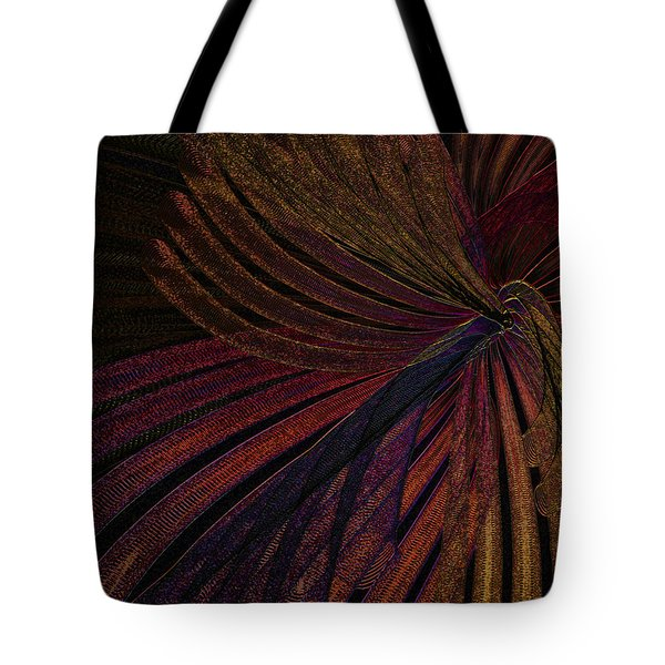 Dark Feather Tote Bag