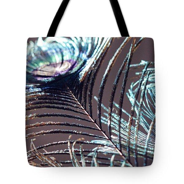 Dark Feathers Tote Bag