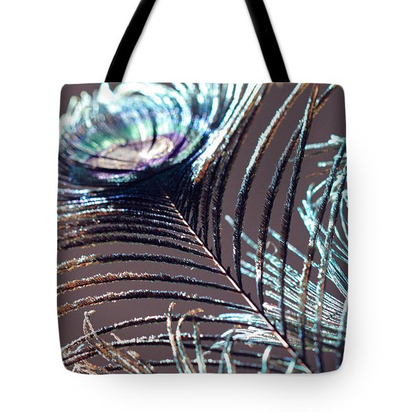 Dark Feathers Tote Bag