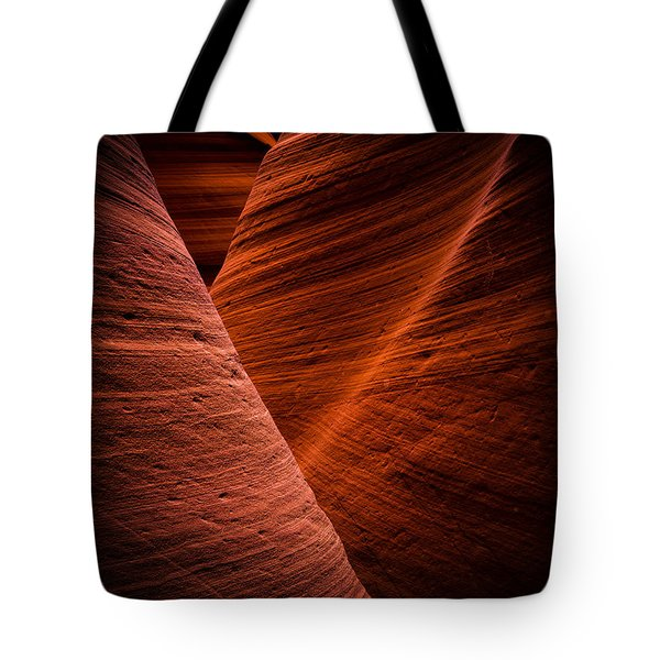 Dark Flow Tote Bag
