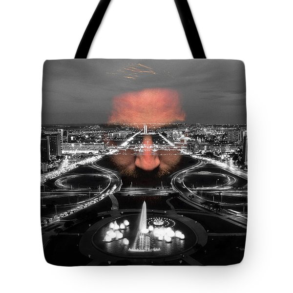 Dark Forces Controlling The City Tote Bag