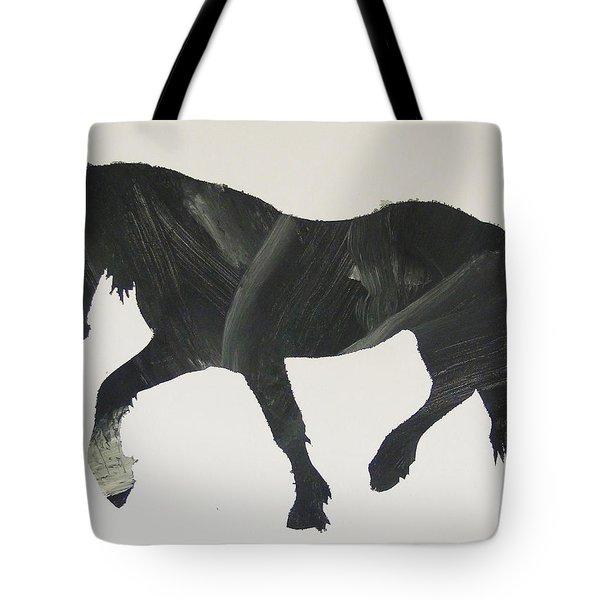 Dark Horse Coming Tote Bag