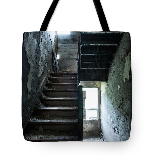 Dark Intervals Tote Bag