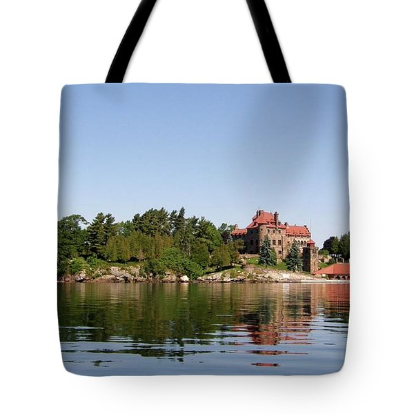 Dark Island Tote Bag