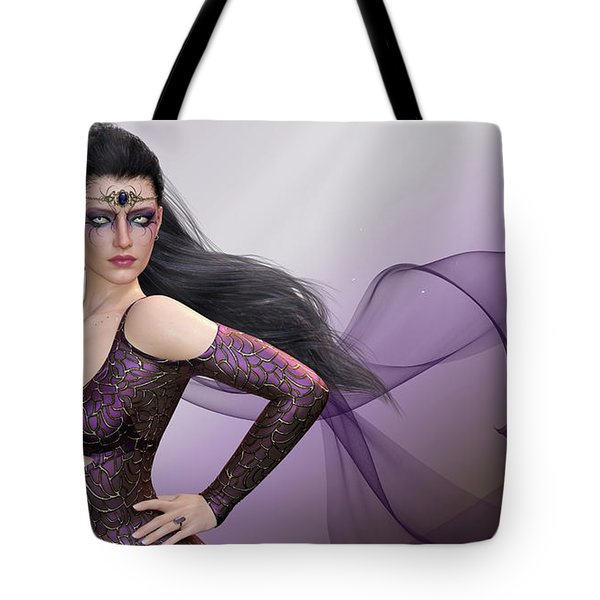Dark Lady Tote Bag