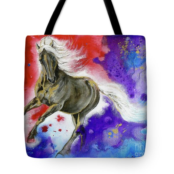 Dark Magic Tote Bag by Louise Green