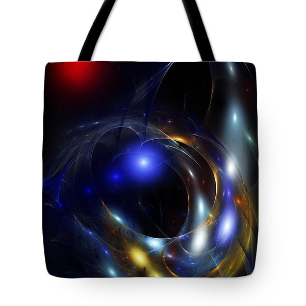 Dark Matter Revealed Tote Bag