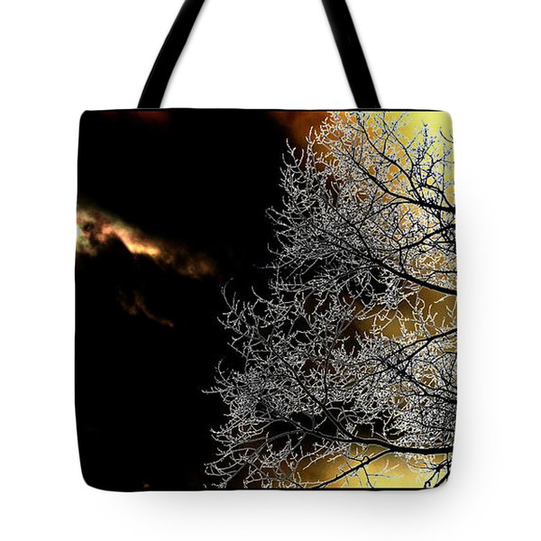 Dark Meets Light Tote Bag