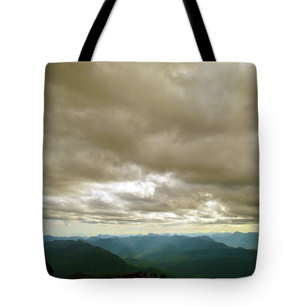 Dark Mountains Too Tote Bag