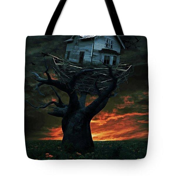 Dark Night Tote Bag by Mihaela Pater