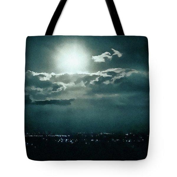 Dark Night Tote Bag by Paul Cristian Panaete