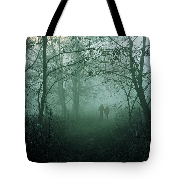 Dark Paths Tote Bag