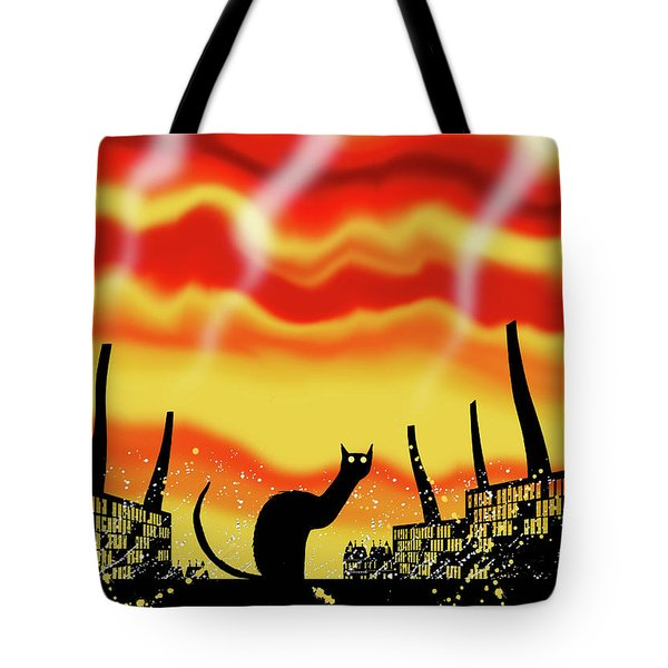 Dark Satanic Mills  Tote Bag