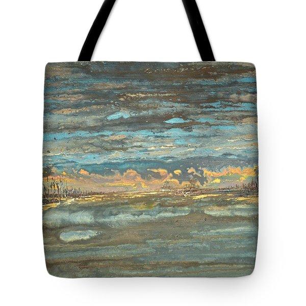 Dark Serene Tote Bag