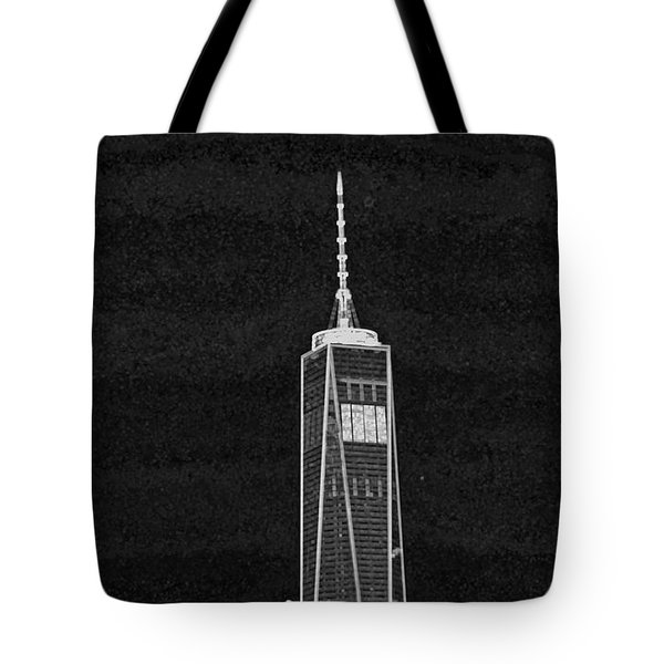 Dark Side Of The City Tote Bag