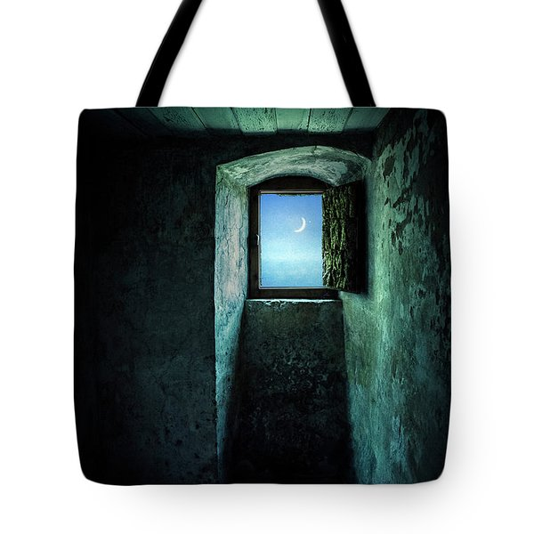 Dark Silence Tote Bag