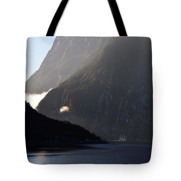 Dark Sound - New Zealand Tote Bag