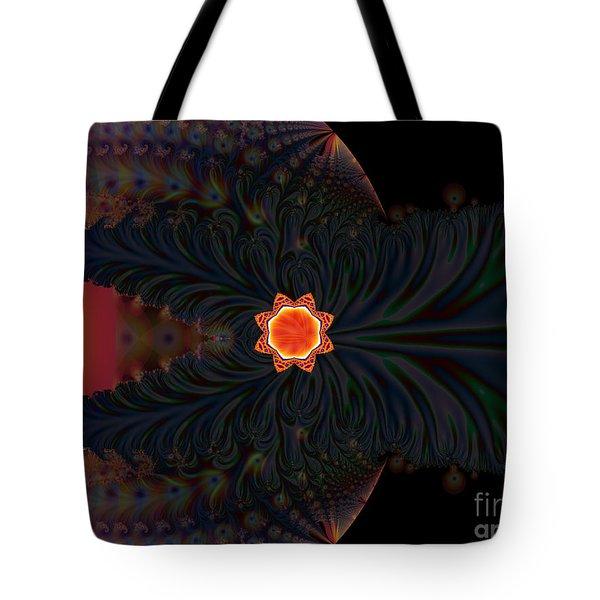Dark Space Fractal  Tote Bag