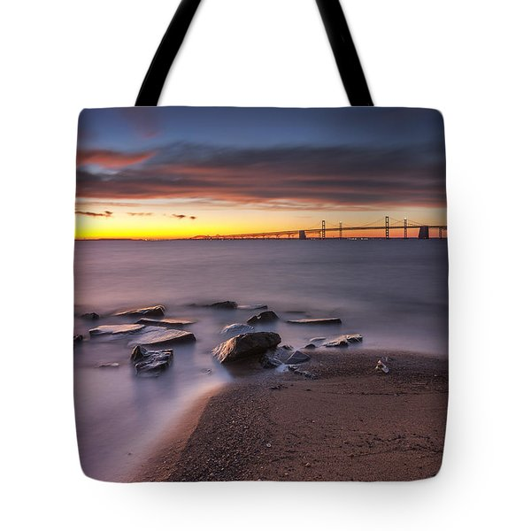 Tote Bag featuring the photograph Dark Stirs Awake by Edward Kreis