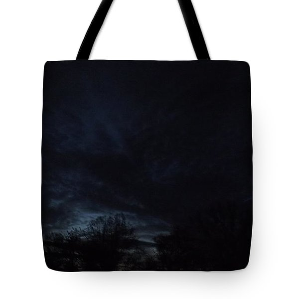 Tote Bag featuring the photograph Dark Storm by Don Koester