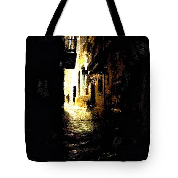 Dark Street Tote Bag