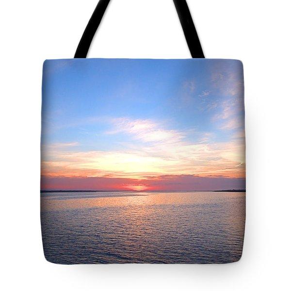 Dark Sunrise I I Tote Bag