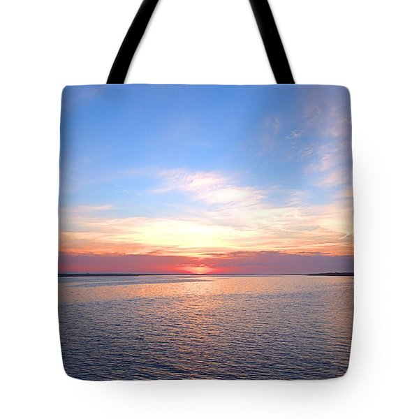 Dark Sunrise I I Tote Bag
