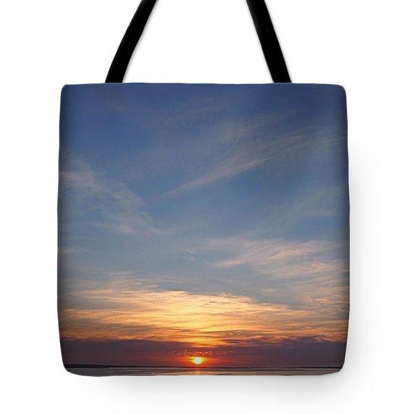 Dark Sunrise Tote Bag