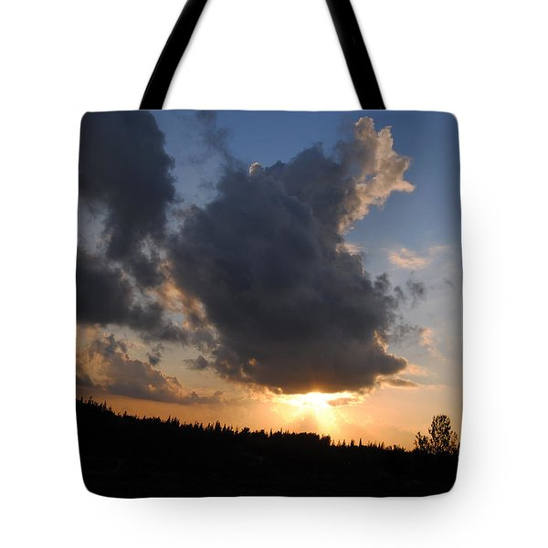 Dark Sunset Tote Bag