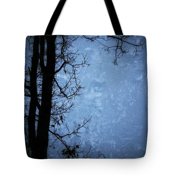 Dark Tree Silhouette  Tote Bag