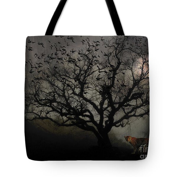 Dark Valley Tote Bag